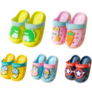 Sandale Hausschuhe Clogs Kinder Baby Slipper Badeschuhe Pantoletten Strand Neu