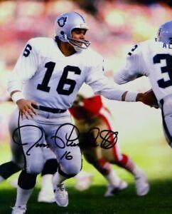 Jim Plunkett Autographed Signed 8x10 Photo ( Raiders ) REPRINT