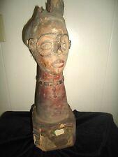 Antique African Wood Sculpture Tall/Elegant/Decorative - Authentic Antique