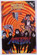 ANTHRAX COMICS MAGAZINE MINT CONDITION  ROCK ' N ROLL  TRASH METAL   SPEED METAL