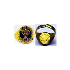 1979 Spiderman Gold Toned Metal Adjustable Ring From Super Signal Set