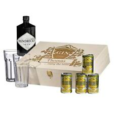 8-teiliges SET REGALO Hendrick'S Gin Tonic incl. incisione motivo GODERE THE
