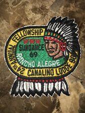 Boy Scout Lodge 90 Canalino EA1969 24th Annual Fellowship OA patch BSA WWW