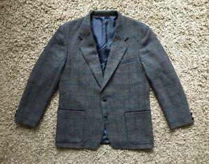 Mens Harris Tweed x Mario Barutti Tweed Blazer / Jacket - Size UK42 EUR 52 / L