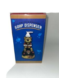 Florida Panthers NHL Stanley Mascot Panther Soap Dispenser NIB SGA