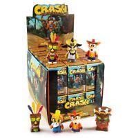 Kidrobot Crash Bandicoot Blind Box Mini Series (Contains 5 Blind Box) NEW