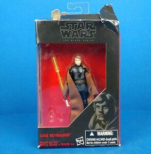 """Luke Skywalker Star Wars Black Serries Hasbro 3.75"""" Action Figure"""