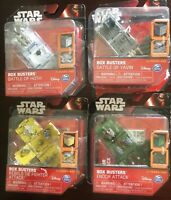 Lot of 4 Star Wars Box Busters Endor Rebels Hoth Yavin, Playset Disney Open Box