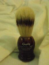 Kingsley Pure Bristles Shaving Brush, NIB