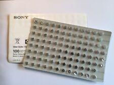 100 x Sony 364 Knopfzelle Uhrenbatterie V364 SR621SW SR60 SR621 AG1 BULK