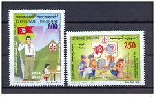 2003- Tunisia- The 70th Anniversary of the Tunisian Scouts-Complete set 2v.MNH**