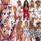 Women Ladies Clubwear V-Neck Playsuit Bodycon Party Jumpsuit&Romper Trousers