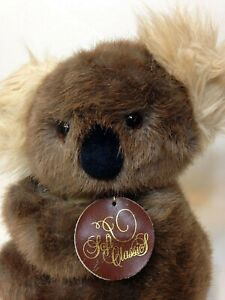 "Dakin Koala Bear Plush Vintage 1987 Brown Soft Classics Stuffed Animal 11"""