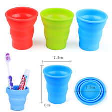 2016 NEW Silicone Portable Retractable Folding Collapsible Outdoor Travel Cup