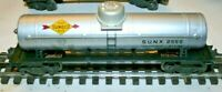 Lionel 2555 SINGLE DOME TANK CAR IN VERY GOOD RESTORED CONDITION. FLYING SHOE