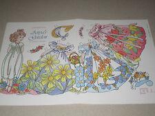 Vtg Charles Ventura Anya's Garden Paper Doll Uncut
