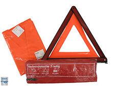 KFZ Sicherheitsset 3-teilig: Verbandstasche / Warndreieck / Warnweste DIN 13164