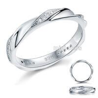 Hochwertiger Verlobungsring Eternity 925 Sterlingsilber viele Zirkonia FR8064
