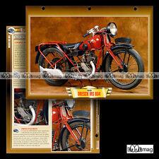#139.04 Fiche Moto DRESCH 250 MS 604 1928-1930 Classic Bike Motorcycle Card