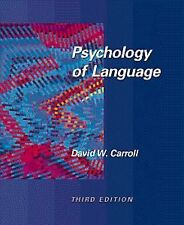 Psychology of Language, Carroll, David W., Used; Good Book