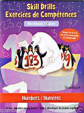 48pg Clever Factory NUMBERS Homeschool Skill Drills Elementary Workbook PreK-K