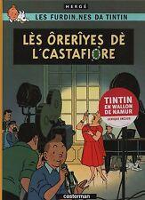 Hergé. Tintin. les bijoux de la Castafiore. En wallon de Namur. Casterman 2009