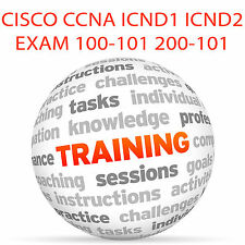 CISCO CCNA ICND1 ICND2 EXAM 100-101 200-101 - Video Training Tutorial DVD