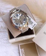 Michael Kors Bradshaw Pave Silver-tone Oversized Watch MK6320