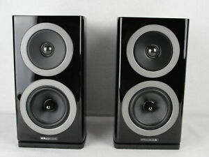 Wharfedale REVA-1 Kompaktlautsprecher - 1 Paar in Schwarz