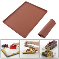 Silicone Baking Mat Non-stick Cake Swiss Roll Pastry Muffin Tray Macaron Pad