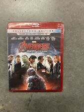 Avengers: Age of Ultron (Blu-ray Disc, 2015, Includes Digital Copy 3D) Brand New