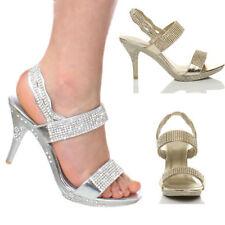 High Heel (3-4.5 in.) Bridal or Wedding Slingbacks for Women