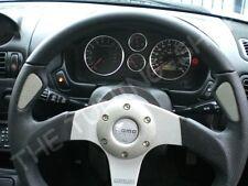 Fits Mitsubishi FTO Set Of 6 Chrome Dial Clock Volt + Rings Polished Aluminium