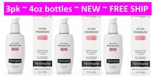 3pk Neutrogena Oil Free Face & Neck Moisturizer for Combination Skin 4oz each h8