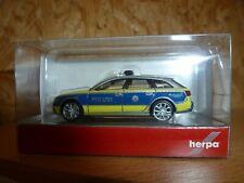 "Herpa Audi A6 ® Avant ""Polizei Baden-Württemberg""  Nr. 094405"