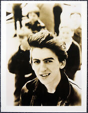 THE BEATLES POSTER PAGE . A YOUNG GEORGE HARRISON AGED 17 . Q5