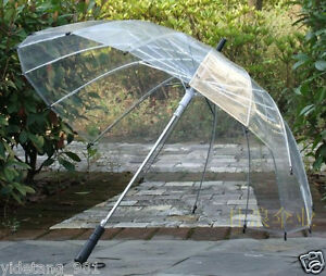 16K skeleton win -Transparent Clear Dome contracted self-motion open an umbrella