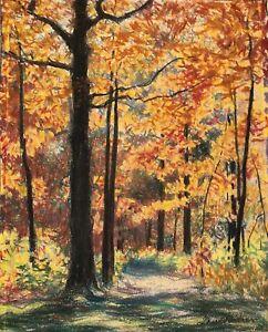 Vintage Drawing -  Autumn Leaves