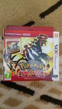 Pokémon Rubi Omega Edición limitada Steel book [Nintendo 3DS] [PAL-ESP] Impoluto