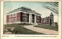 Hamilton Smith Library Thompson Hall Durham New Hampshire Vintage Postcard BB1