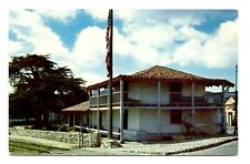Monterey California Postcard Old Custom House Built During Mexican Period