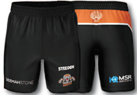 Wests Tigers 2021 Training Shorts Sizes Small - 5XL NRL Steeden In Stock Now