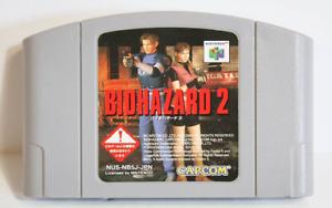 BIOHAZARD 2 Nintendo 64 N64 Resident Evil