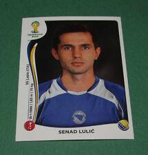 N°439 SENAD LULIC BOSNIE PANINI FOOTBALL FIFA WORLD CUP BRAZIL 2014 BRASIL