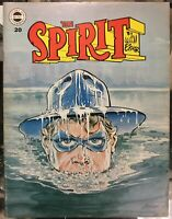 THE SPIRIT #20 Kitchen Sink Press 1979 DRAMATIC COVER GEM EISNER MAGAZINE