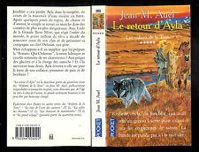"""Jean M. Auel : Le retour d'Ayla """" Les enfants de la Terre - Tome 5 """" Pocket"""