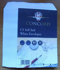 C5 Self Seal White Envelopes 80 GSM - Free Post and Package