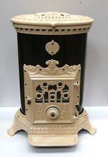 NUOVO 7KW Godin 3726 STOVE antiquestyle GHISA LEGNO carbone MultiFuel OVALE CREMA