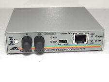Allied Telesyn mc101xl Fast Ethernet medie Converter at-mc101xl top.