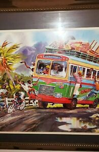 Caribbean Jamaican Art Print by Herbie Rose